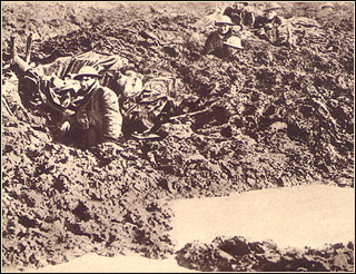 Passchendaele....drowning in mud